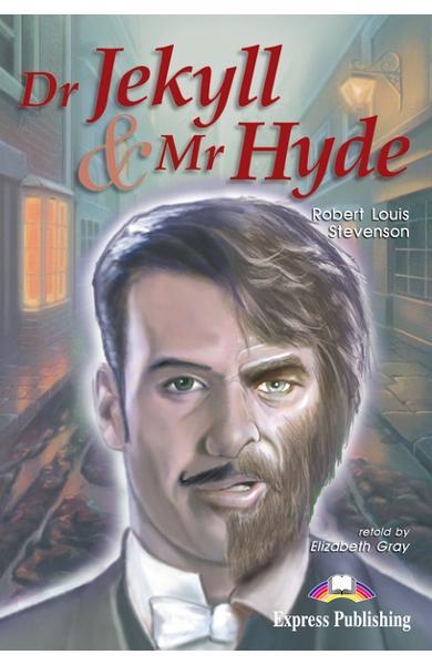 LITERATURA ADAPTATA PT. COPII DR JEKYLL AND MR HYDE PACHET ELEV ( CARTE + AUDIO CD + CAIET DE ACTIVITATI ) 978-1-84216-186-9