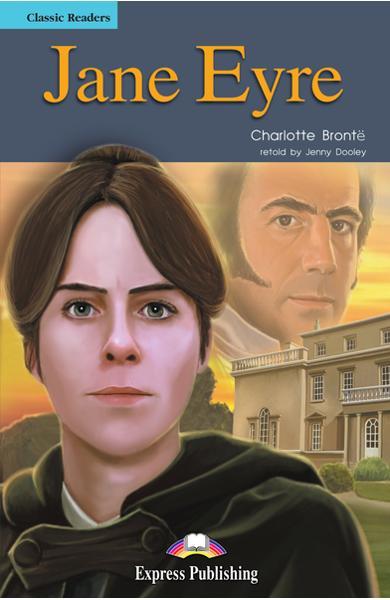 Literatură adaptată pt. copii Jane Eyre (set cu cd)