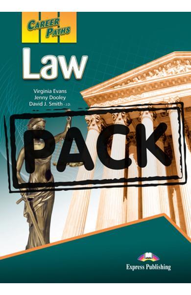 Curs limba engleză Career Paths Law - Pachetul elevului