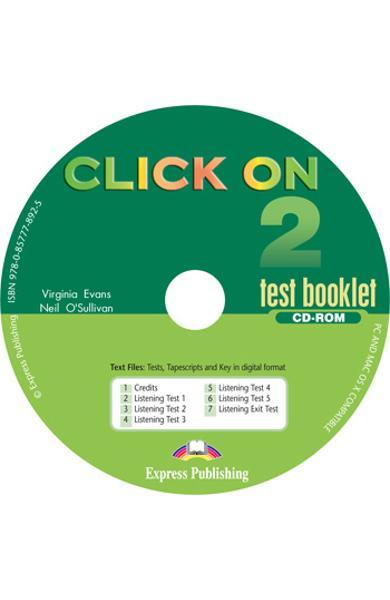 Curs lb. Engleza Click On 2 CD-ROM cu teste 978-0-85777-892-5