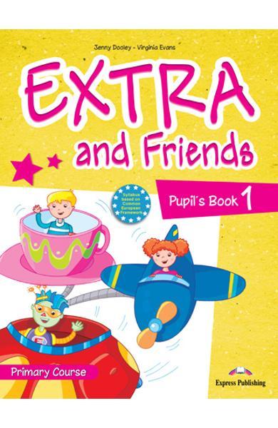 Curs lb. Engleza Extra and Friends 1 Manualul elevului 978-1-4715-0565-2