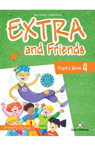 Curs lb. Engleza Extra and Friends 4 Manualul elevului 978-1-4715-0879-0