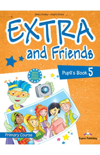 Curs lb. Engleza Extra and Friends 5 Manualul elevului 978-1-4715-0881-3