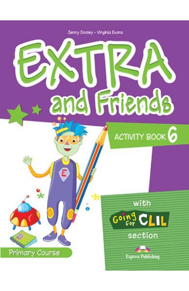 Curs lb. Engleza Extra and Friends 6 Caietul elevului 978-1-4715-0884-4