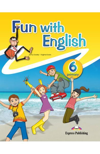 Curs lb. Engleza - Fun with English 6 - Manualul elevului 978-0-85777-675-4