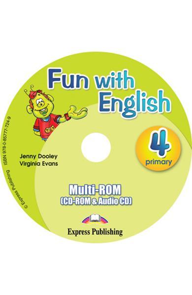 Curs lb. Engleza - Fun with English 4 - MULTI-ROM 978-0-85777-724-9