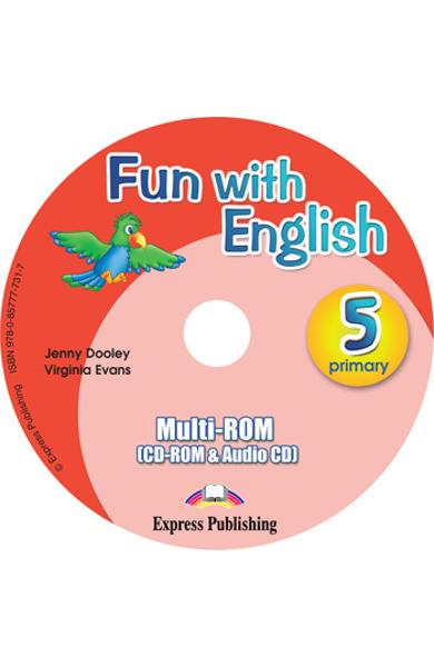 Curs lb. Engleza - Fun with English 5 - MULTI-ROM 978-0-85777-731-7