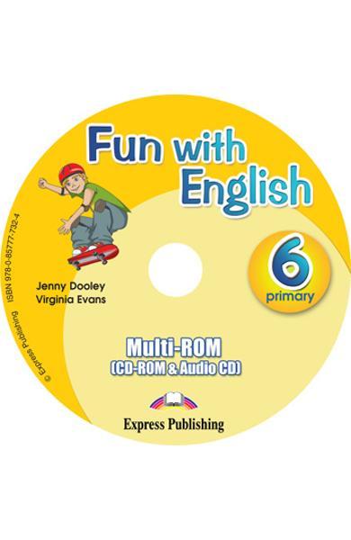 Curs lb. Engleza - Fun with English 6 - MULTI-ROM 978-0-85777-732-4