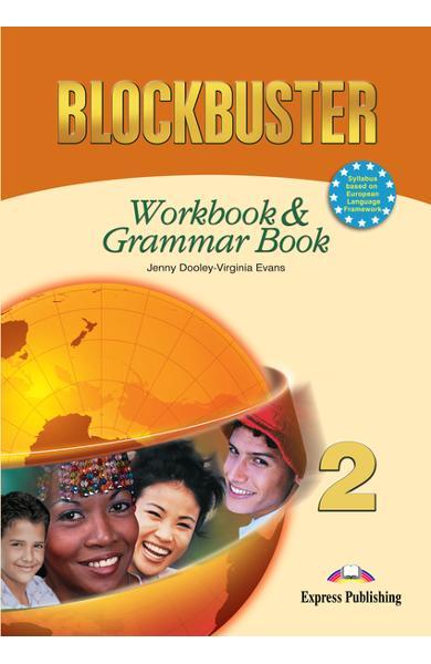 Curs limba engleză Blockbuster 2 Caietul elevului şi gramatică