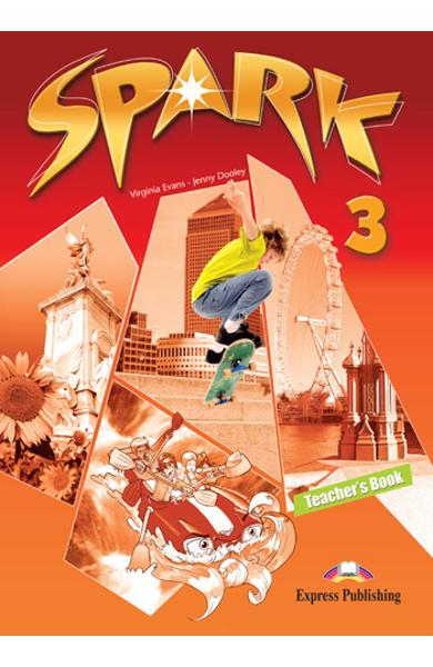 Curs limba engleza Spark 3 Monstertrackers Manualul profesorului 978-1-84974-693-9