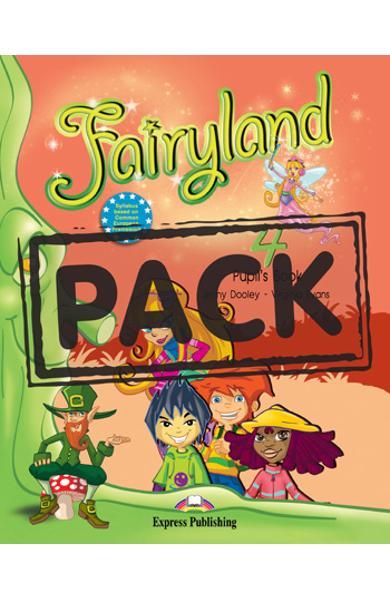Curs limba engleza Fairyland 4 Pachetul elevului ( manual + ieBook )