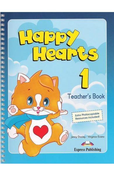Curs limba engleză Happy Hearts 1 Manualul profesorului