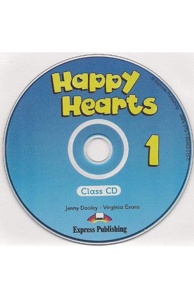 Curs limba engleză Happy Hearts 1 Audio CD
