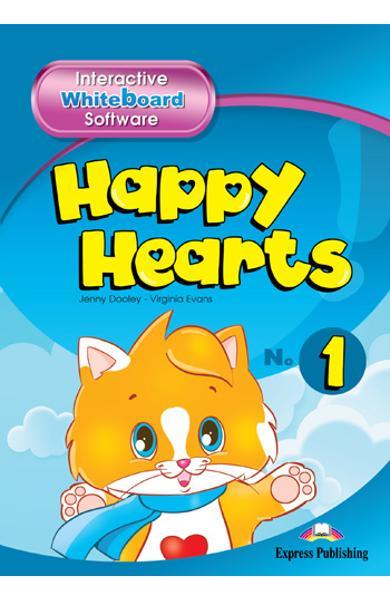 Curs limba engleză Happy Hearts 1 Software pentru tabla interactivă