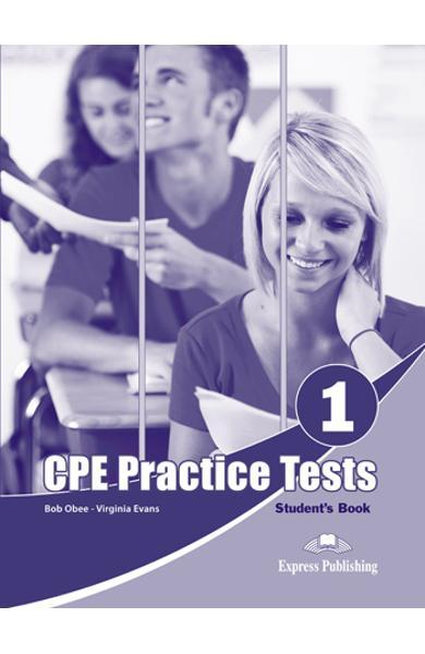 CURS LB. ENGLEZA EXAMEN CAMBRIDGE CPE PRACTICE TESTS 1 MANUAL ELEV (REVIZUIT 2013) 978-1-4715-0649-9