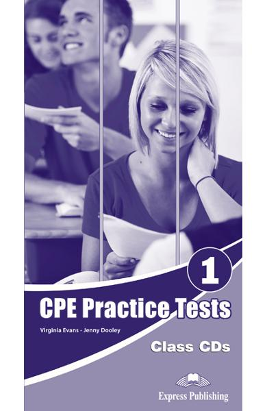 Cpe practice tests 1 audio cd