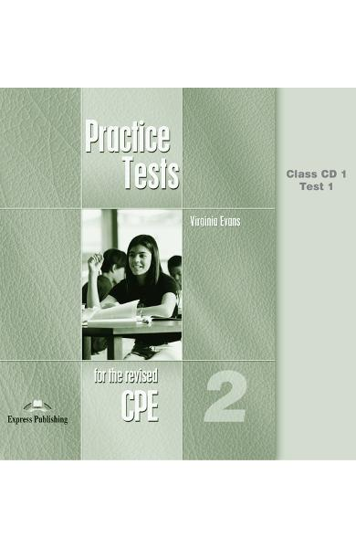 CURS LB. ENGLEZA EXAMEN CAMBRIDGE CPE PRACTICE TESTS 2 AUDIO CD (set 6 cd) OLD 978-1-84325-522-2
