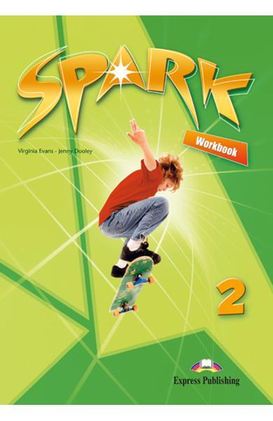 Curs limba engleza Spark 2 Monstertrackers Caietul elevului 978-1-84974-685-4