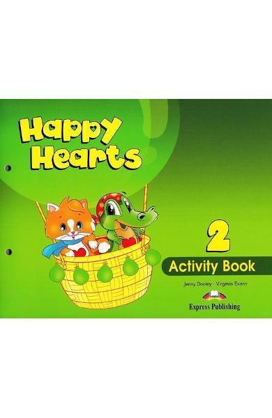Curs limba engleză Happy Hearts 2 Caietul elevului