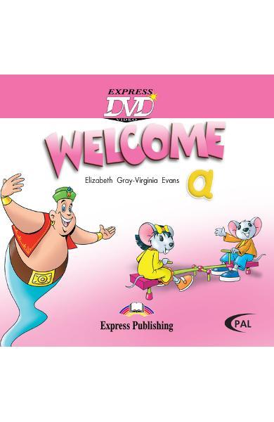 Curs limba engleză Welcome Starter A DVD 978-1-84558-730-7