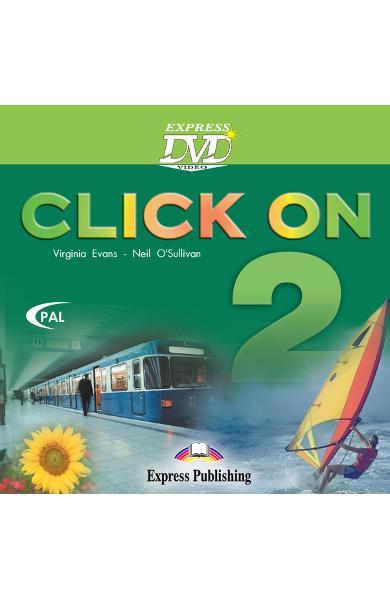 Curs limba engleză Click On 2 DVD 978-1-84466-501-3