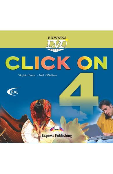 Curs limba engleză Click On 4 DVD 978-1-84466-744-4