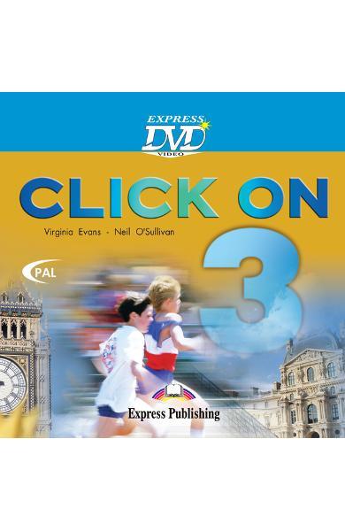 Curs limba engleză Click On 3 DVD 978-1-84466-503-7