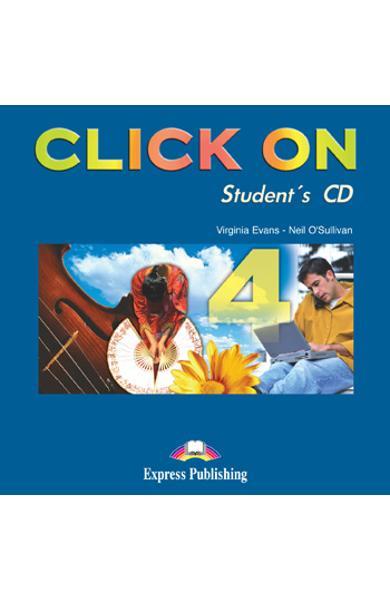 Curs limba engleza Click On 4 Audio CD elev 978-1-84325-787-5