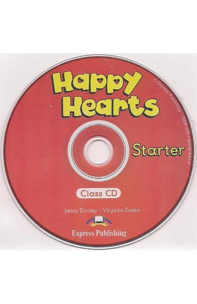 Curs limba engleză Happy Hearts Starter Audio CD