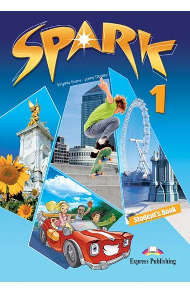 Curs limba engleza Spark 1 Monstertrackers Manualul elevului 978-1-84974-667-0