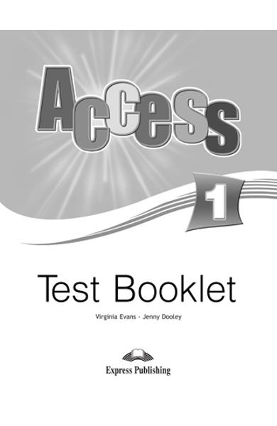 Curs limba engleză Access 1 Teste