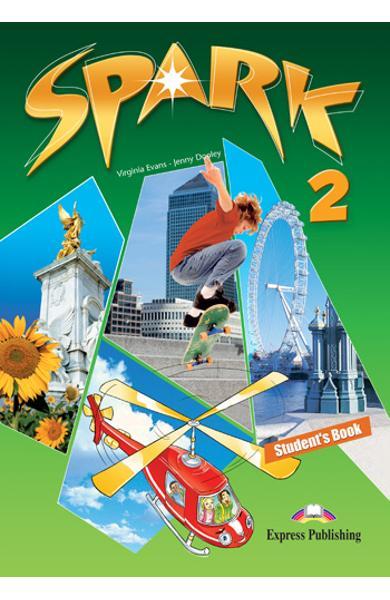 Curs limba engleza Spark 2 Monstertrackers Manualul elevului 978-1-84974-654-0
