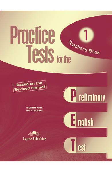 Teste limba engleză Practice tests for the PET 1 Manualul profesorului 978-1-84466-274-6