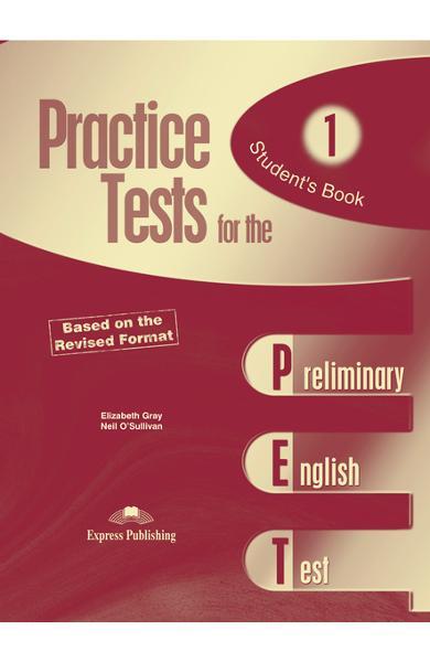 Teste limba engleză Practice tests for the PET 1 Manualul elevului