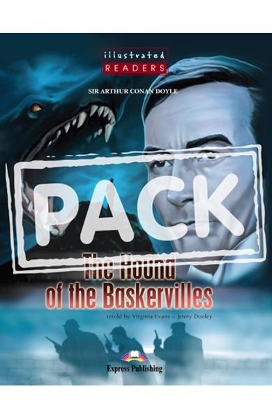 Literatura adaptata pt. copii benzi desenate - The Hound of the Baskervilles cu audio CD