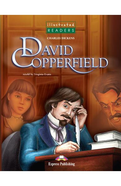 Literatură adaptată pt. copii benzi desenate david copperfield + cd