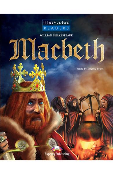 Literatura adaptata pt.copii benzi desenate Macbeth 978-1-84558-203-6