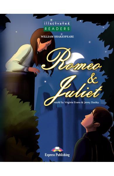 Literatură adaptată pt. copii benzi desenate Romeo and Juliet