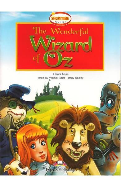 LITERATURA ADAPTATA PT. COPII THE WONDERFUL WIZARD OF OZ 978-1-84679-345-5