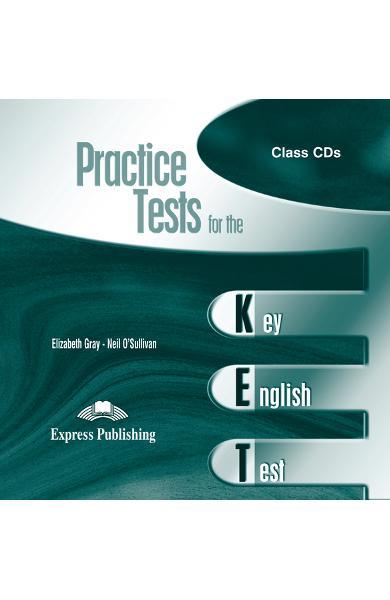 Teste limba engleză Practice tests for KET 1 Audio CD (set 2 CD) 978-1-84216-921-6