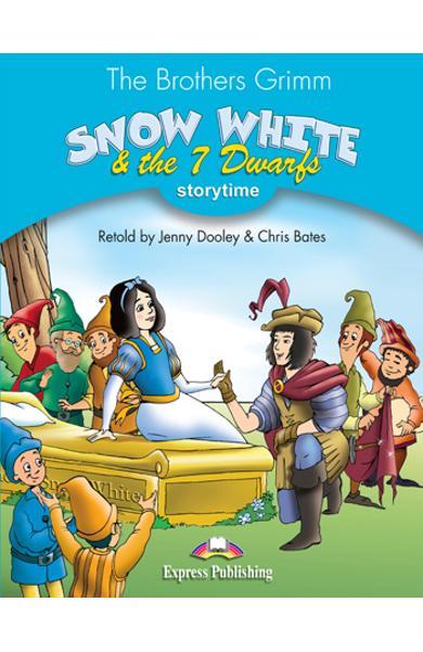 LITERATURA ADAPTATA PT. COPII SNOW WHITE AND THE SEVEN DWARFS DVD 978-1-84862-593-8
