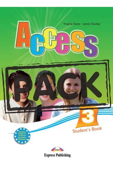 Curs limba engleza Access 3 Pachetul elevului cu iebook