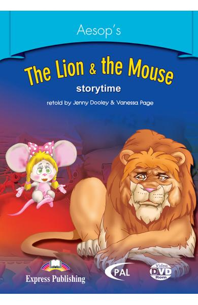 LITERATURA ADAPTATA PT. COPII THE LION AND THE MOUSE DVD ROM 978-1-84466-160-2
