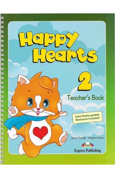 Curs limba engleză Happy Hearts 2 Manualul profesorului