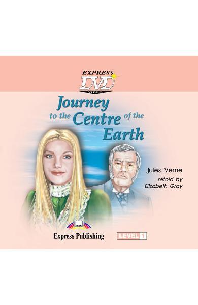 LITERATURA ADAPTATA PT. COPII JOURNEY TO THE CENTRE OF THE EARTH DVD 978-1-84558-789-5