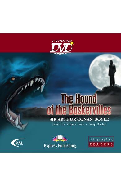 LITERATURA ADAPTATA PT. COPII BENZI DESENATE THE HOUND OF THE BASKERVILLES DVD 978-1-84679-051-5