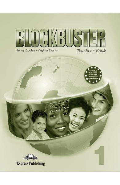 Curs limba engleză Blockbuster 1 Manualul profesorului cu postere