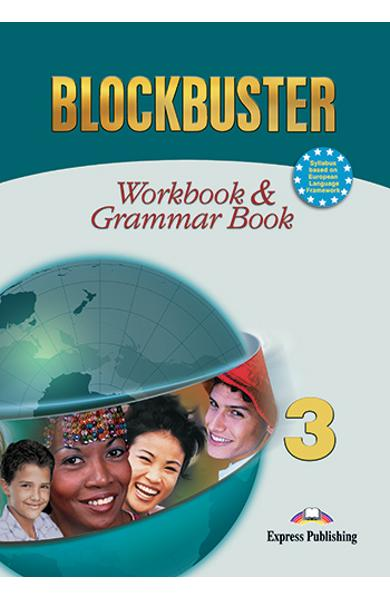 Curs limba engleză Blockbuster 3 Caietul elevului şi gramatică