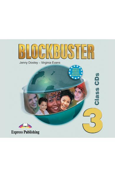 Curs limba engleză Blockbuster 3 Audio CD (set 4 CD-uri)