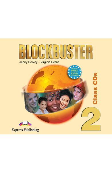 Curs limba engleză Blockbuster 2 Audio CD (set 4 CD)